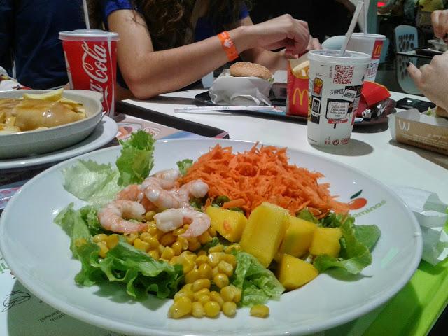 Alimentação em tempo de férias