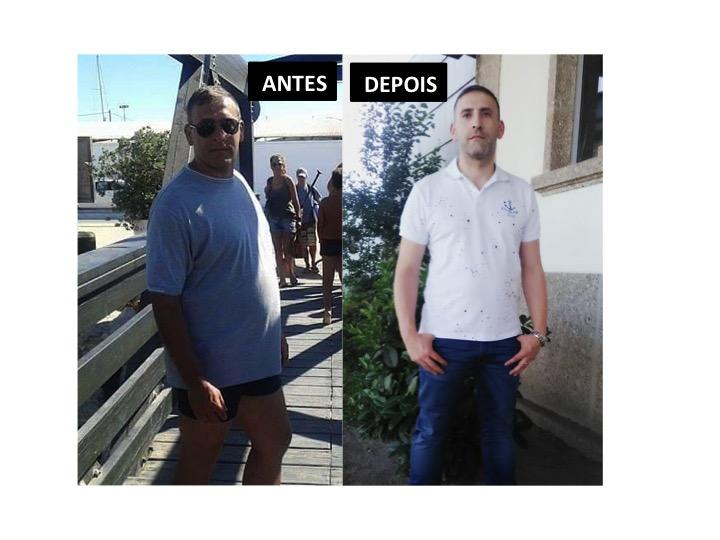 Luís Silva: -20kg em 4 meses